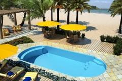 piscina mediterranea praia